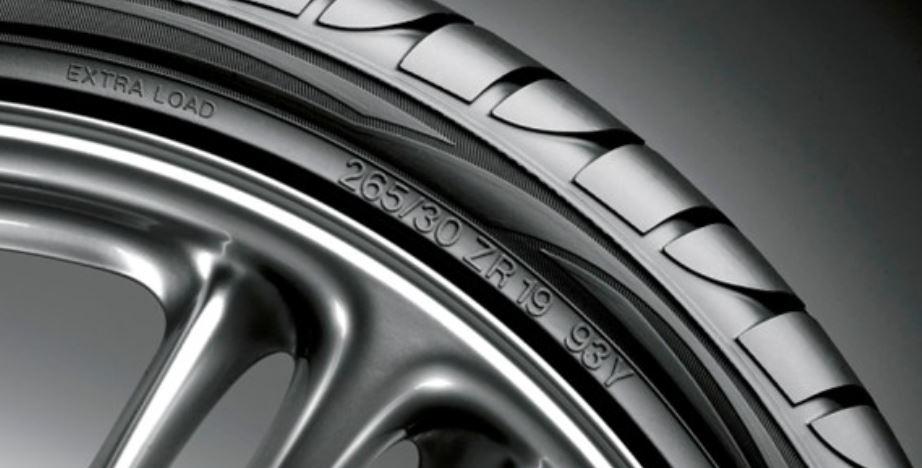 dimensions de pneus