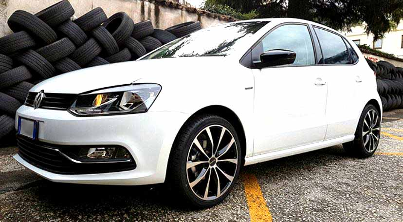 volkswagen polo wheels mad 4 wheels 2007 volkswagen polo tour black bbs ch wheels for. Black Bedroom Furniture Sets. Home Design Ideas