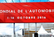 mondial de l'automobile Paris 2016