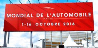 mondial de l'automobile Paris 2016