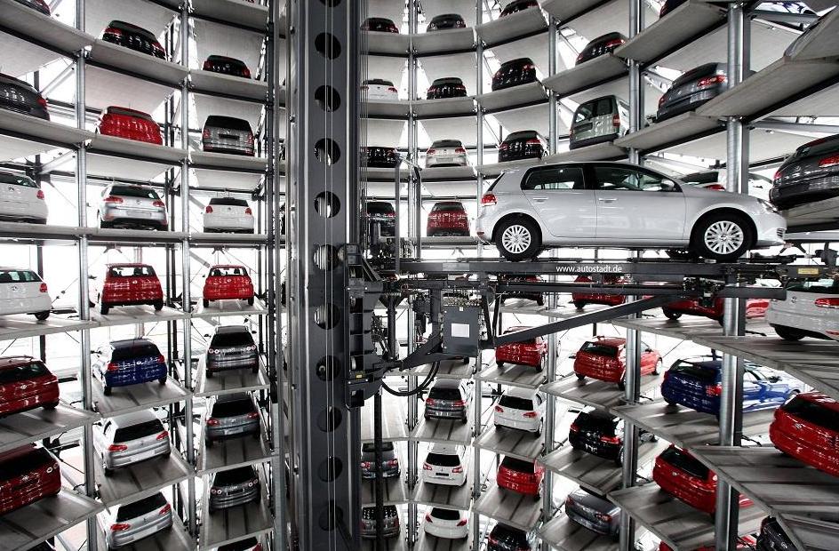 parking insolite automatisé