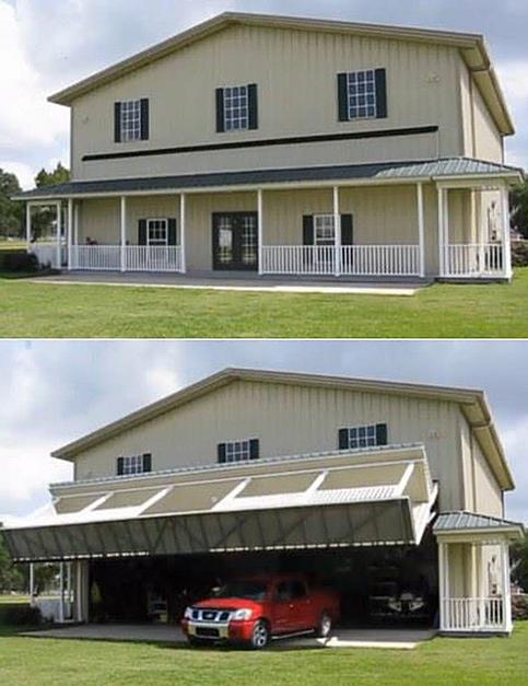 garage très insolite et incroyable caché