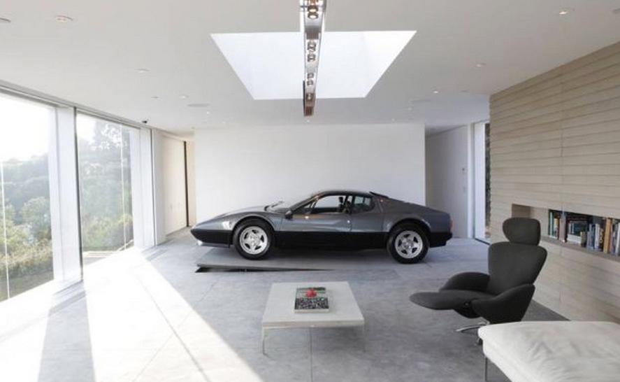 Les garages les plus insolites blog quartier des jantes - Jeux de voiture a garer dans un garage ...