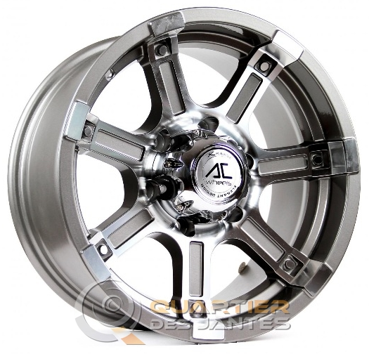 jantes ac wheels atlas anthracite face polie