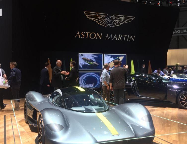 Aston Martin, Salon de Genève 2017