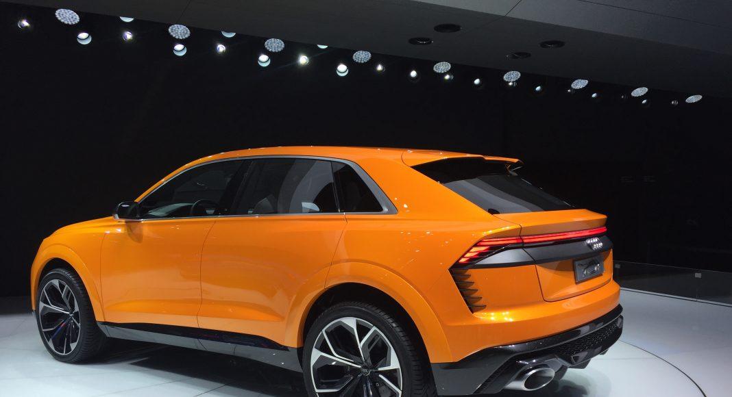 Audi Q8 Concept car sport, Genève 2017