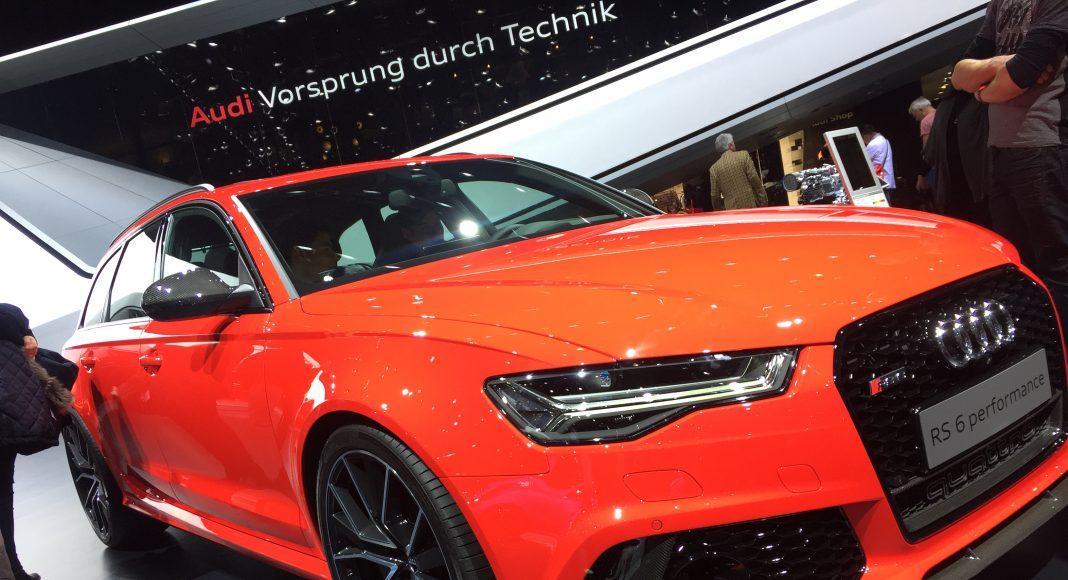 Audi RS 6 Performance, Genève 2017