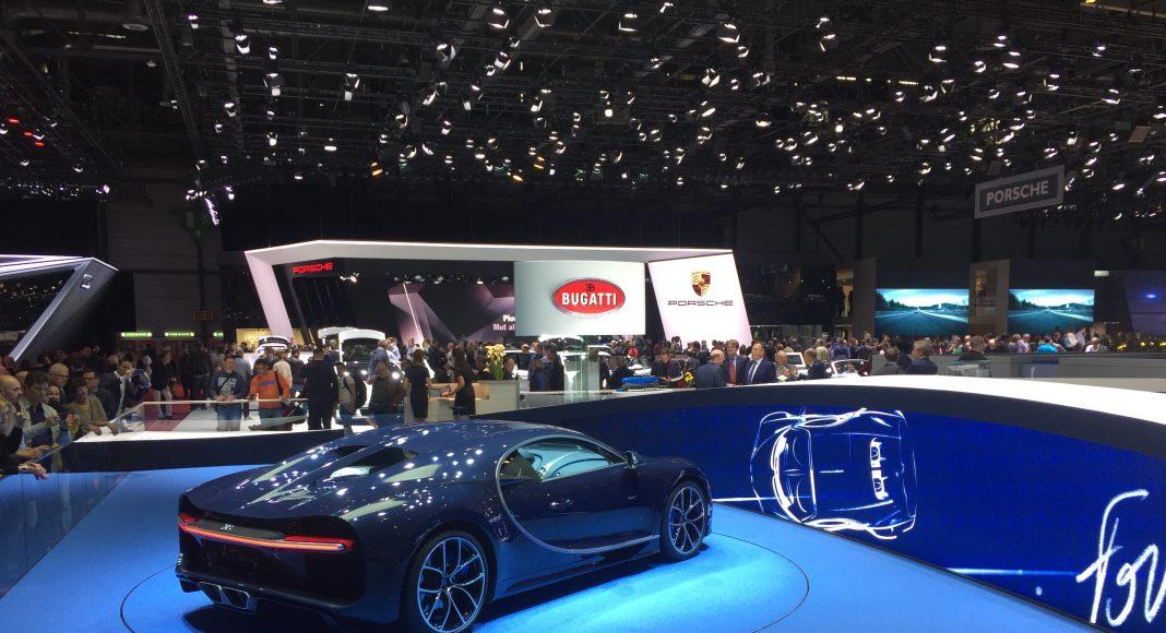 Bugatti Chiron Bleu, Genève 2017