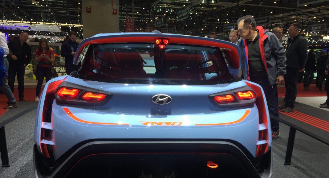 Hyundai RN30 Concept, Genève 2017