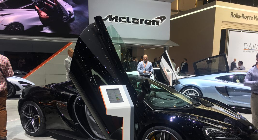 MClaren, salon de Genève 2017