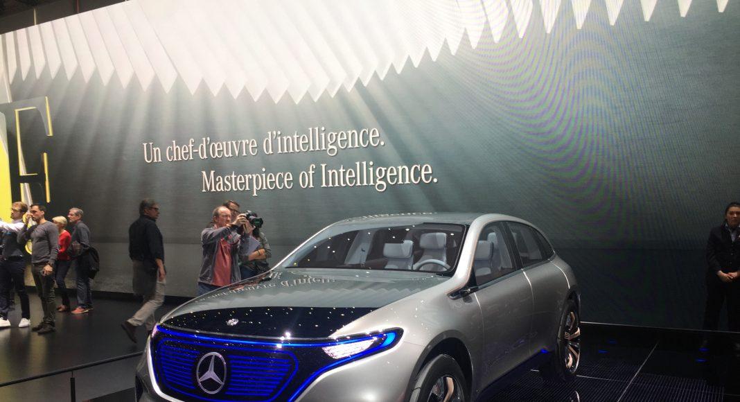 Mercedes électrique, Salon Genève 2017