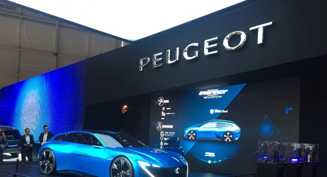Peugeot instinct concept hybrid, Genève 2017