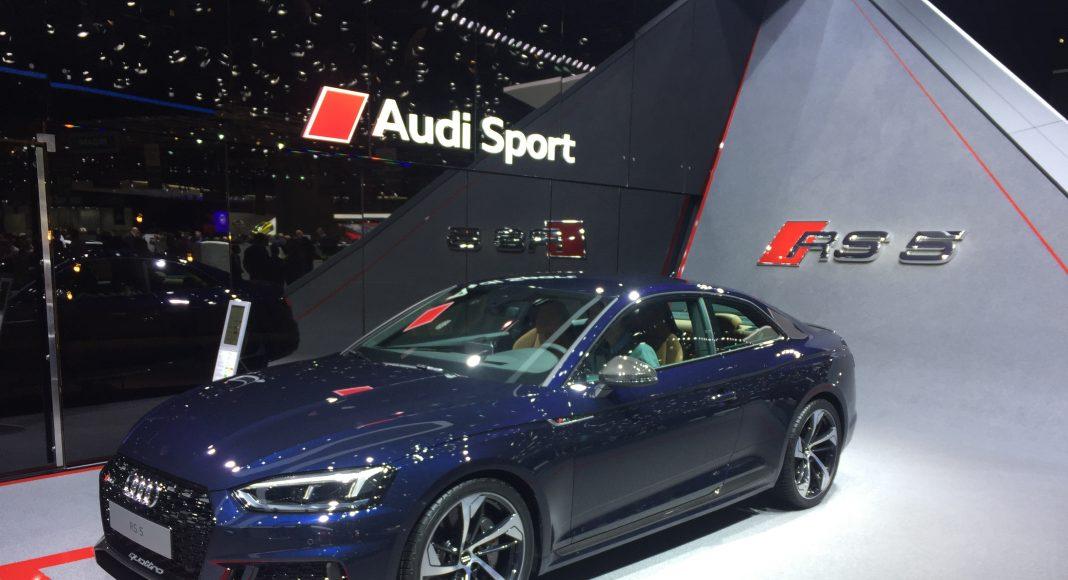 Audi RS5 Sport salon de genève