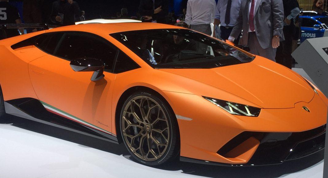 Lamborghini Huracan Performante, Genève 2017