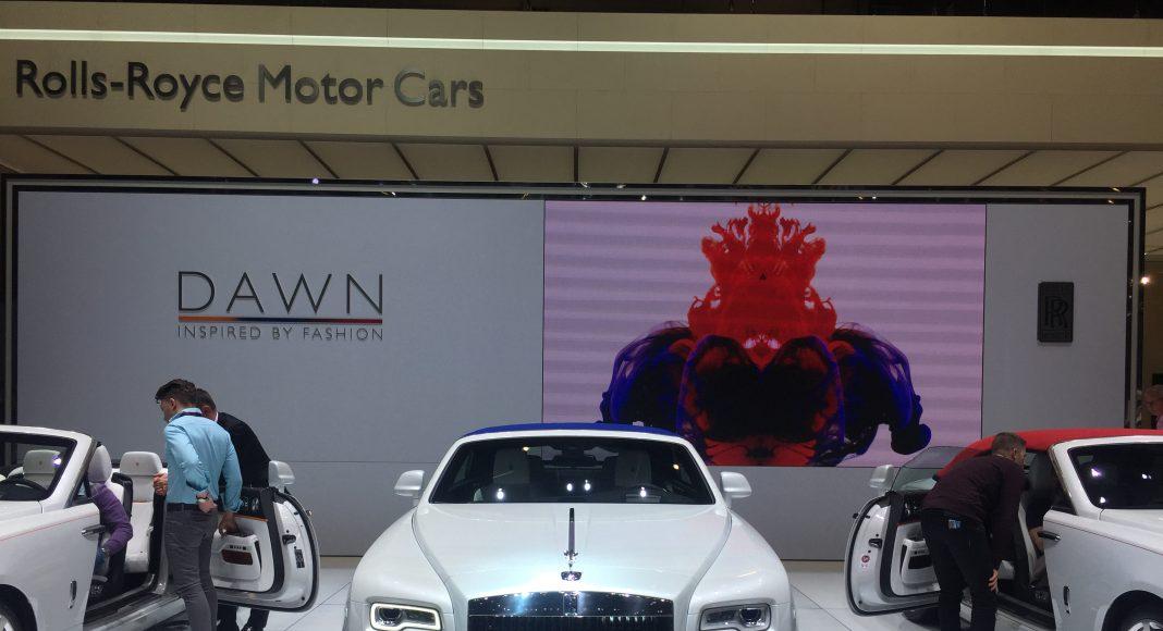 rolls royce motor cars geneve 2017