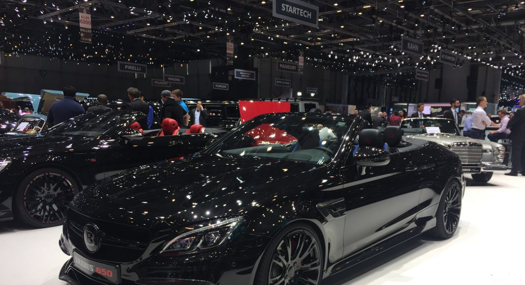 salon de geneve preparateur brabus