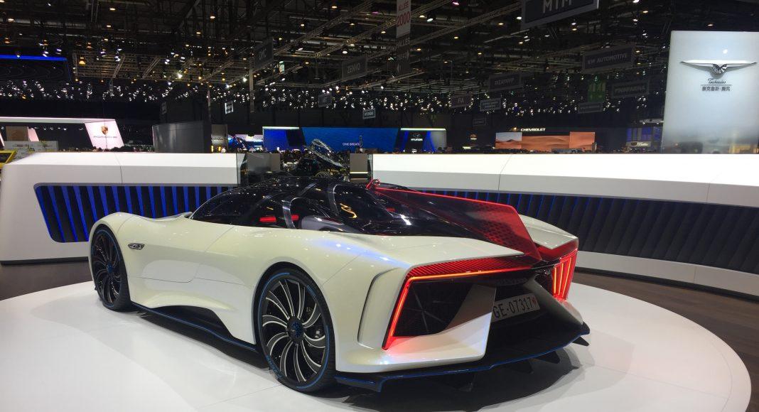 Techrules Ren Hypercar, Genève 2017