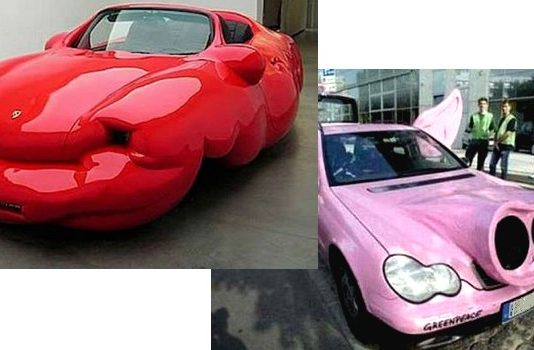Les pires voitures tuning insolites