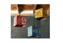 Les plaques d'immatriculation recyclées