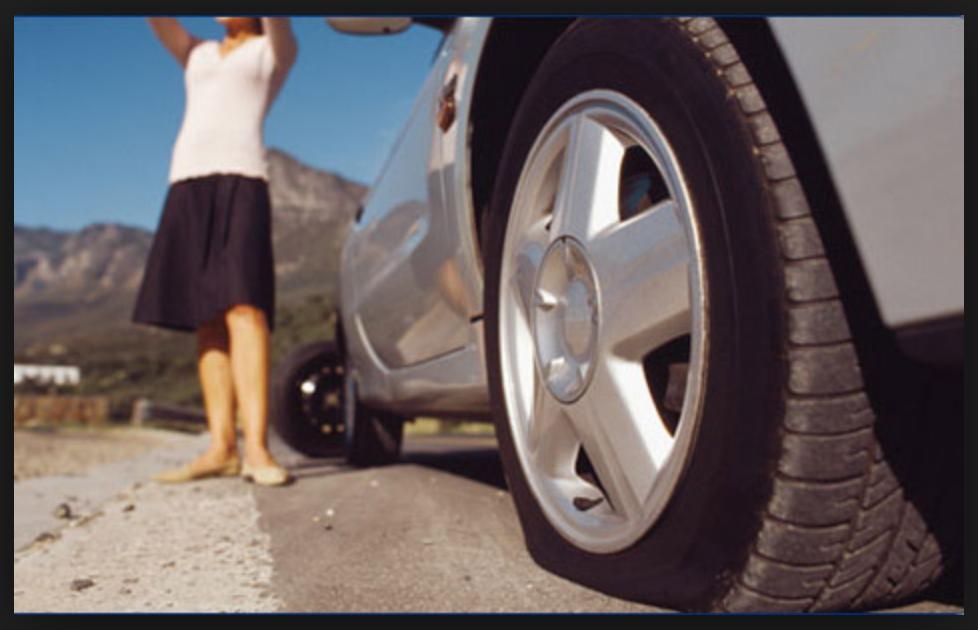 le kit roue de secours changer ses pneus crevés