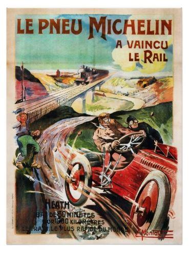 publicité vintage pneu michelin