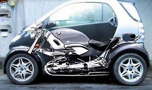 smart tuning insolite peinture carrosserie