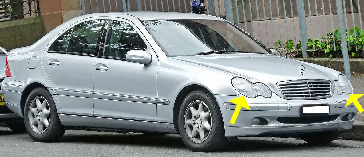 relooker sa voiture w203 2000 2004