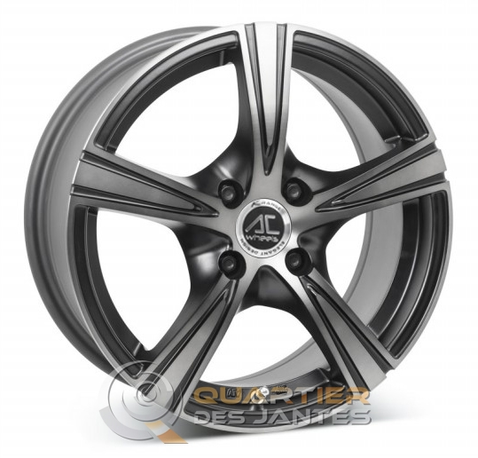 ac wheels shadow jante yaris toyota