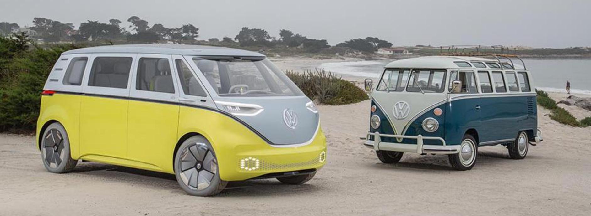 combi-volkswagen surf plage voiture mer