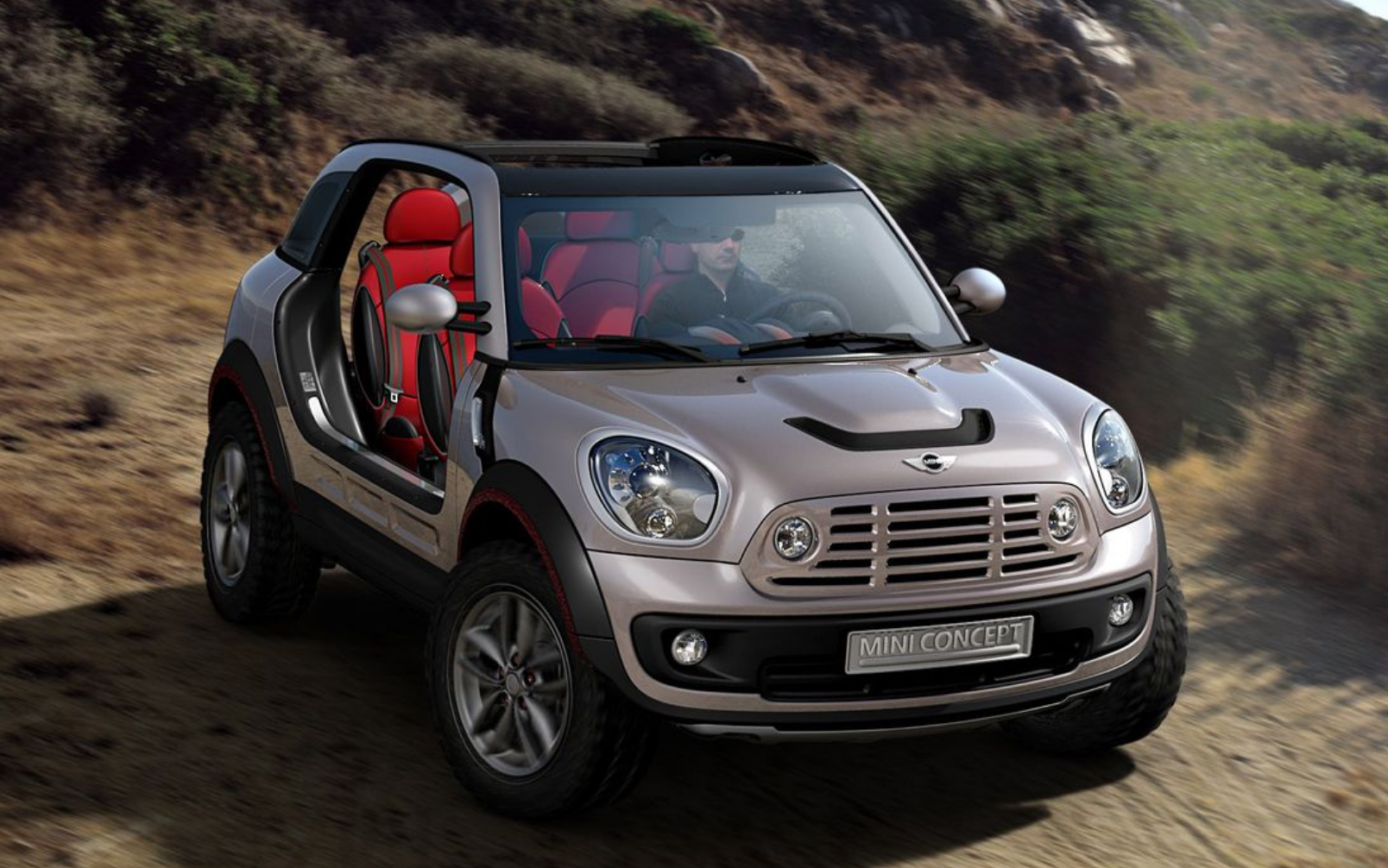 mini beachcomber concept buggy mini voiture mer