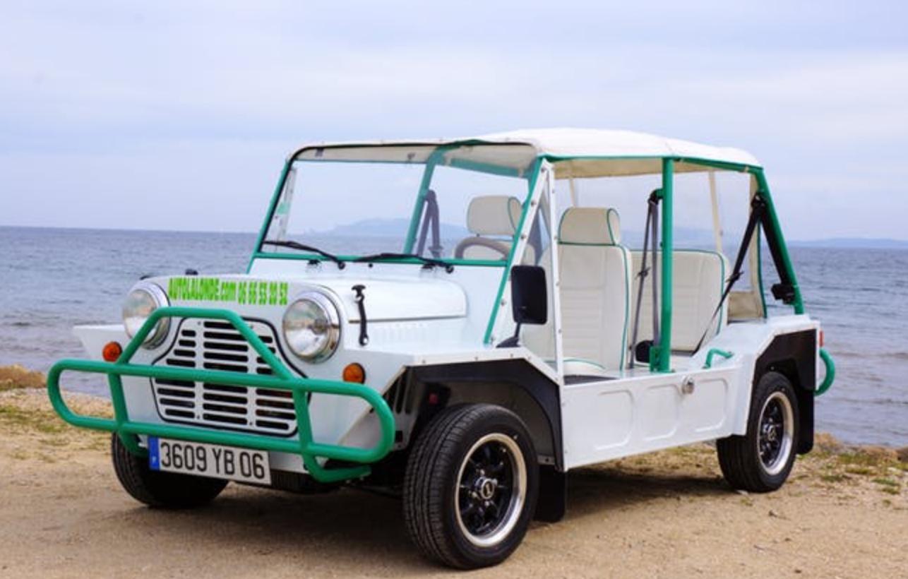 voiture spécial plage mini moke