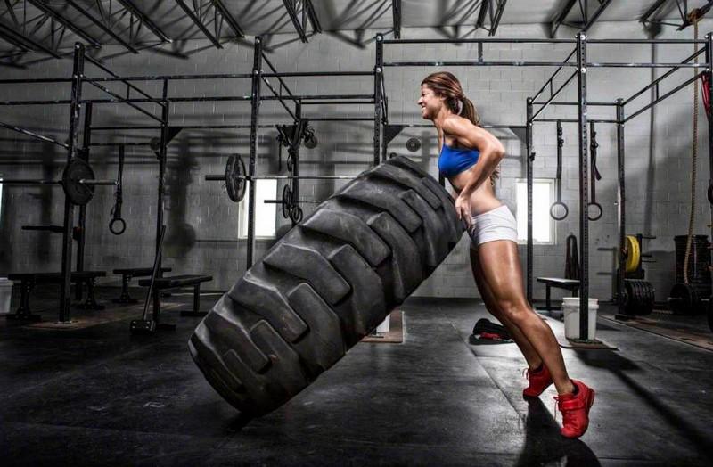 Faites du sport avec vos anciens pneus