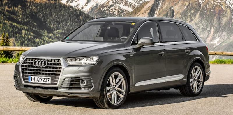 Audi Q7 voiture SUV famille 7 places
