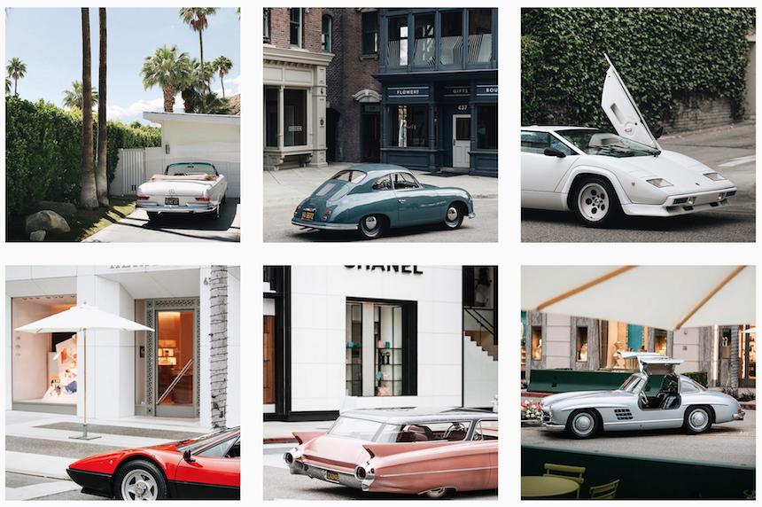 Top 5 des meilleurs comptes instagram de voiture photo auto