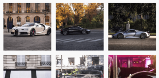 Les véhicules de luxe les plus cités sur Instagram